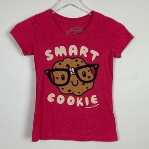 David & Goliath Smart Cookie Tee sz M Girls